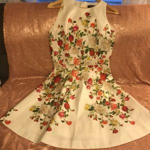 Tahari - Floral Flare Dress
